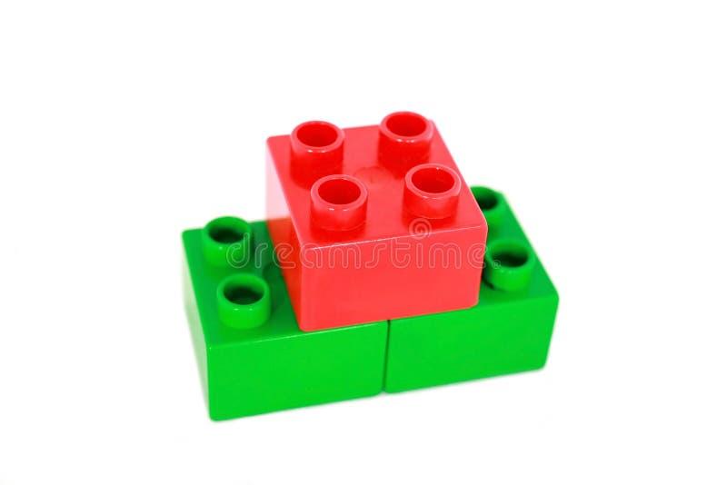 De Blokken van het stuk speelgoed stock foto
