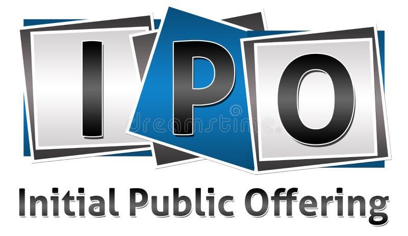 De Blokken van IPO Drie vector illustratie