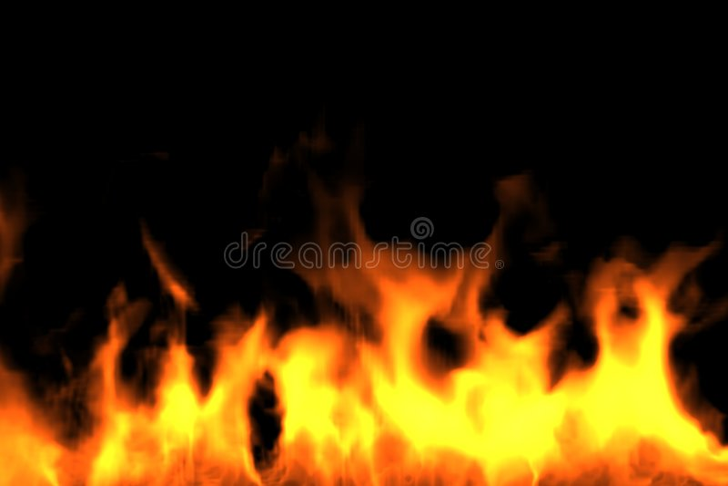 De Bodem van de brand. Geef terug stock foto's