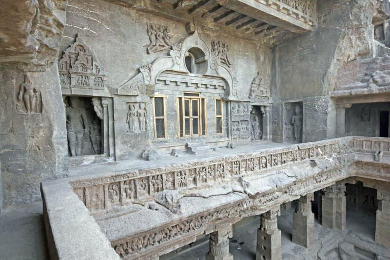 De boeddhistische Tempel van de Rots stock foto