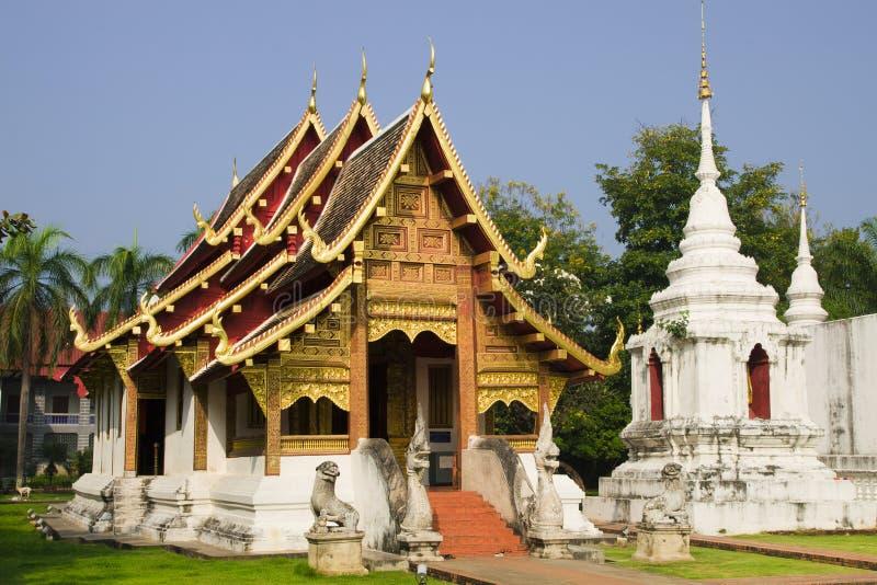 De Boeddhistische Tempel van MAI van Chiang royalty-vrije stock fotografie