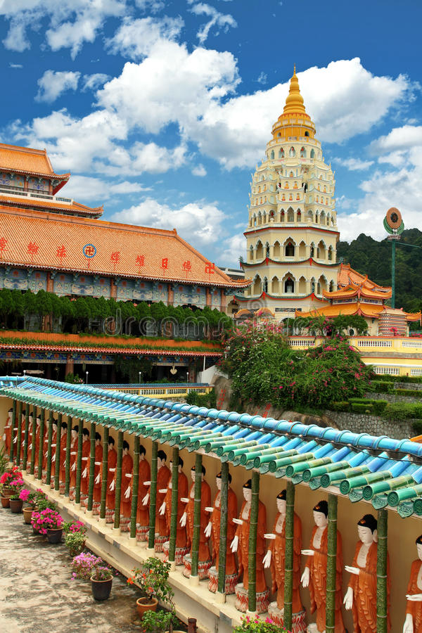 De Boeddhistische Tempel van Si van Lok van Kek (Hoge Resolutie) royalty-vrije stock afbeeldingen