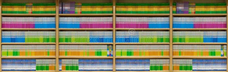 De boeken van de kleur royalty-vrije stock afbeeldingen