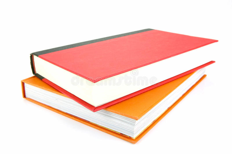 De Boeken van de school royalty-vrije stock foto's