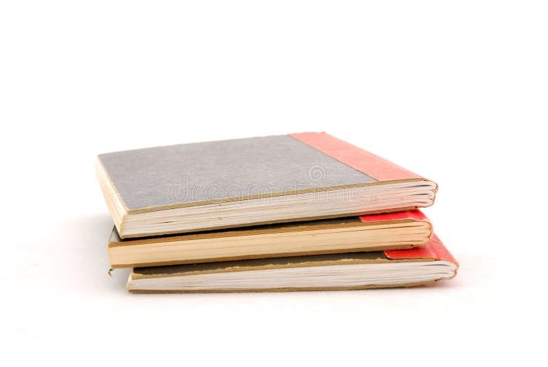 De boeken van de school royalty-vrije stock afbeeldingen