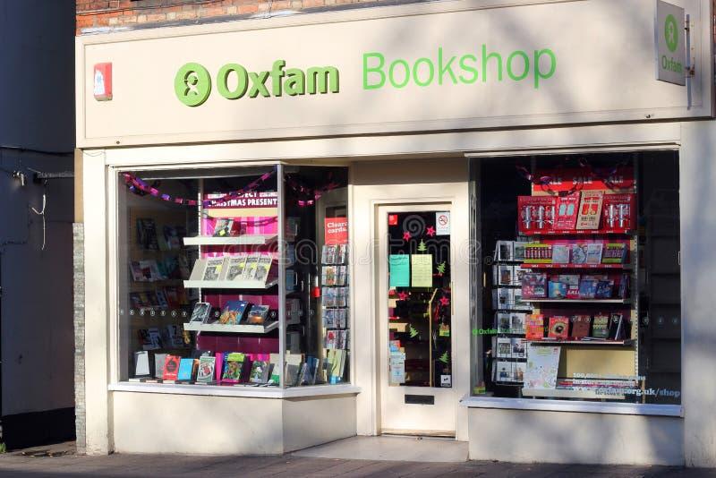 De boekhandel van Oxfam. royalty-vrije stock afbeeldingen