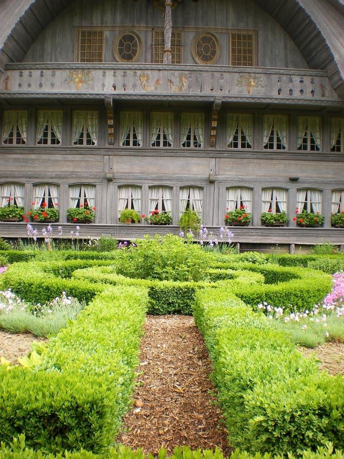 De boerderij van Ballenberg kruiden   royalty-vrije stock foto