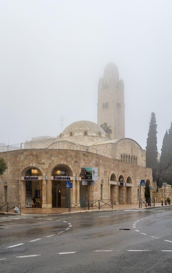 De Bogenhotel van YMCA Drie in Jeruzalem royalty-vrije stock foto's