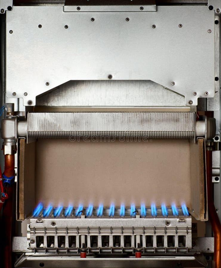 De boiler van het gas royalty-vrije stock afbeelding
