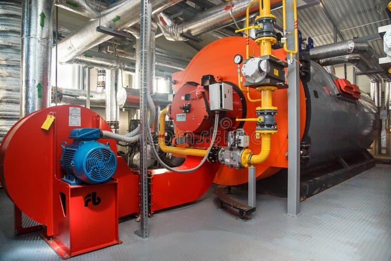 De boiler van het gas royalty-vrije stock foto