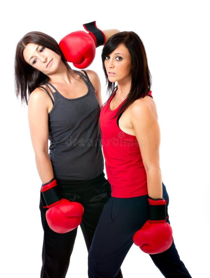 De bokswedstrijd van Olimpic royalty-vrije stock fotografie