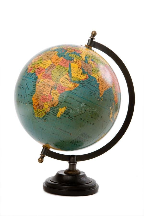 De bol van de aarde stock foto's