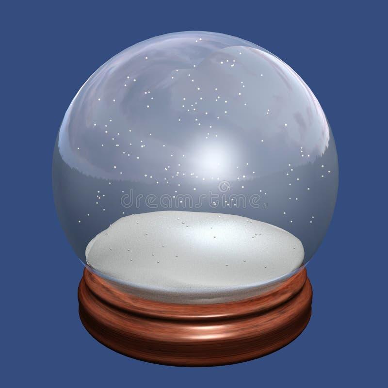 De bol van de sneeuw stock illustratie