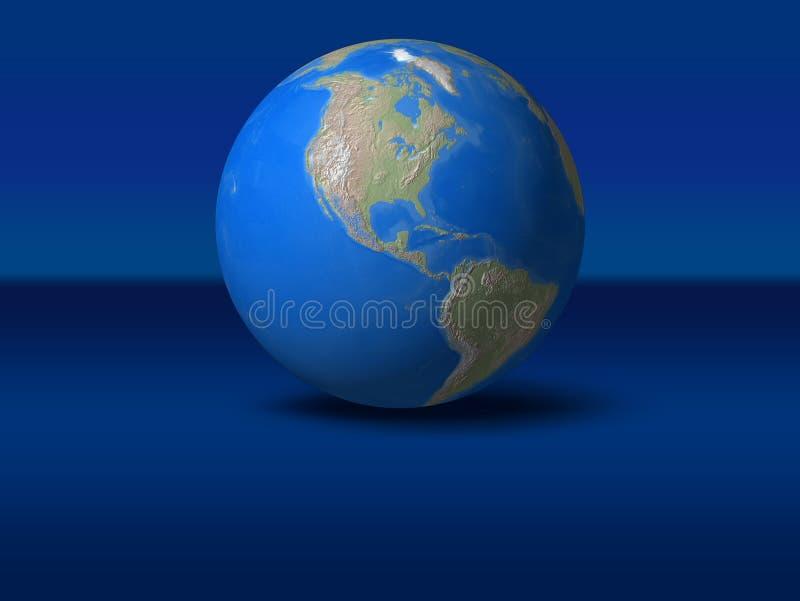 De Bol van de wereld vector illustratie