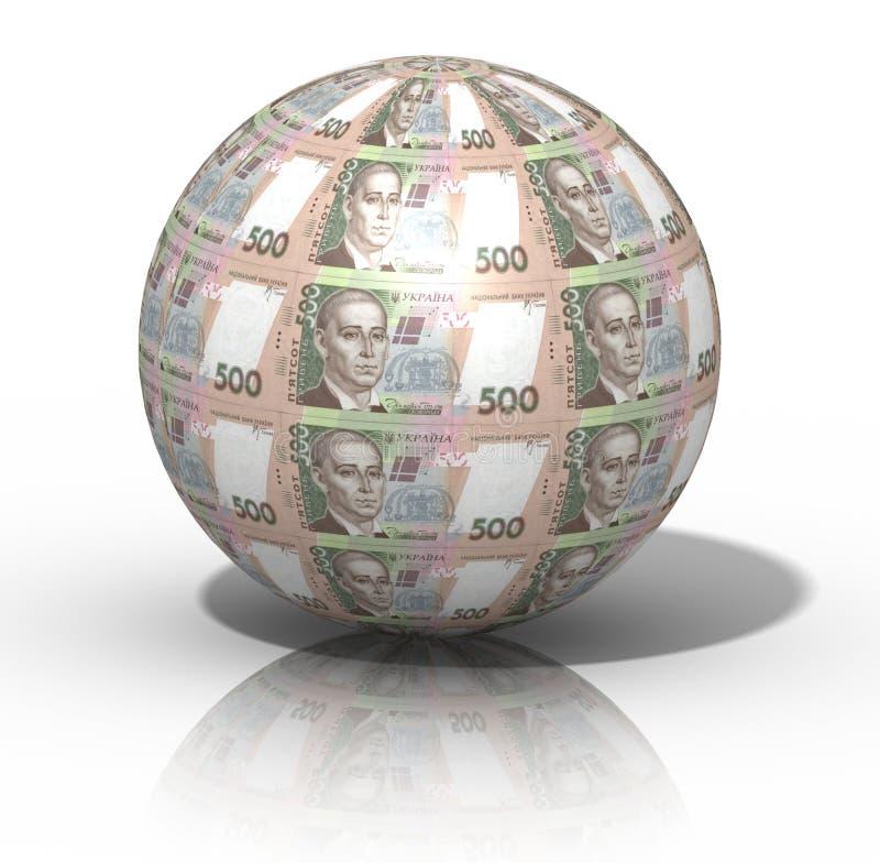 Geldbol royalty-vrije stock fotografie