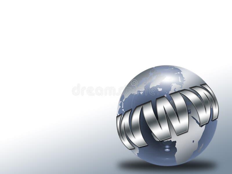 De bol van het glas stock illustratie