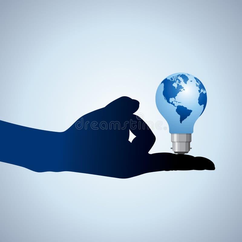 De bol van het idee   royalty-vrije illustratie