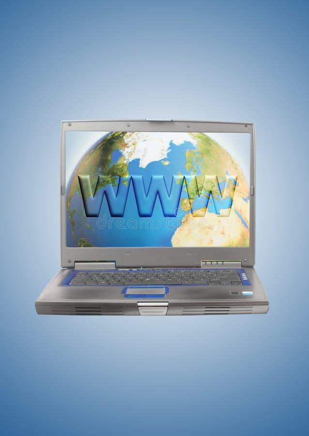 De bol van Internet royalty-vrije illustratie