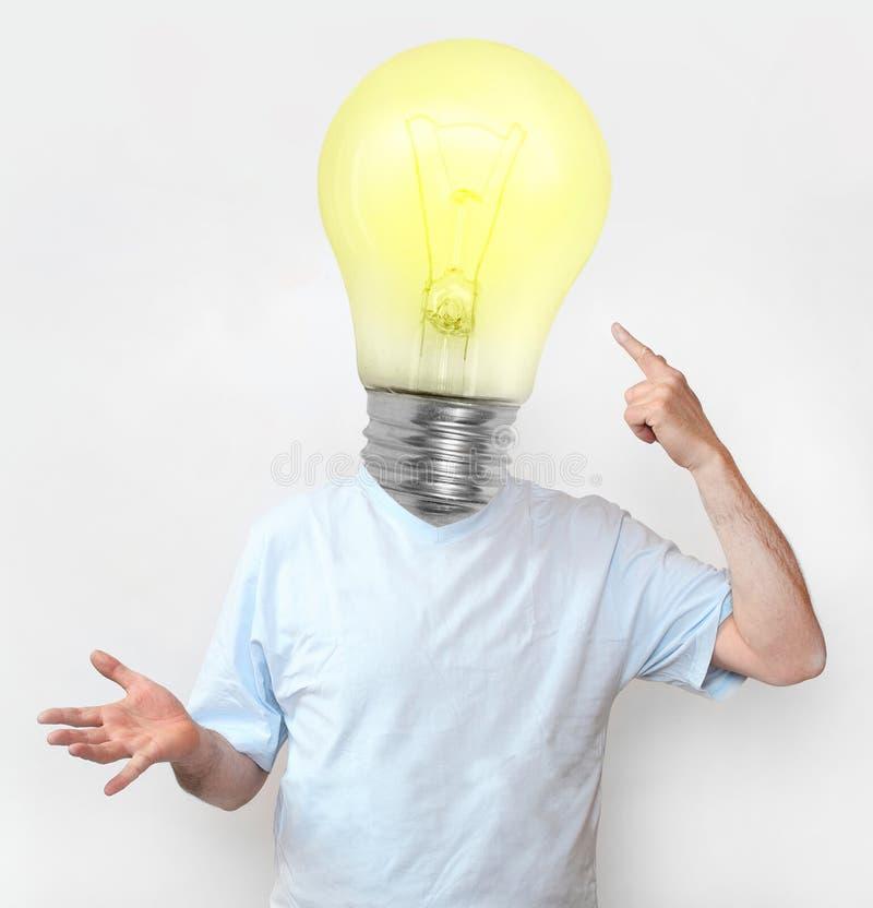 De bolmens van het idee. stock foto's