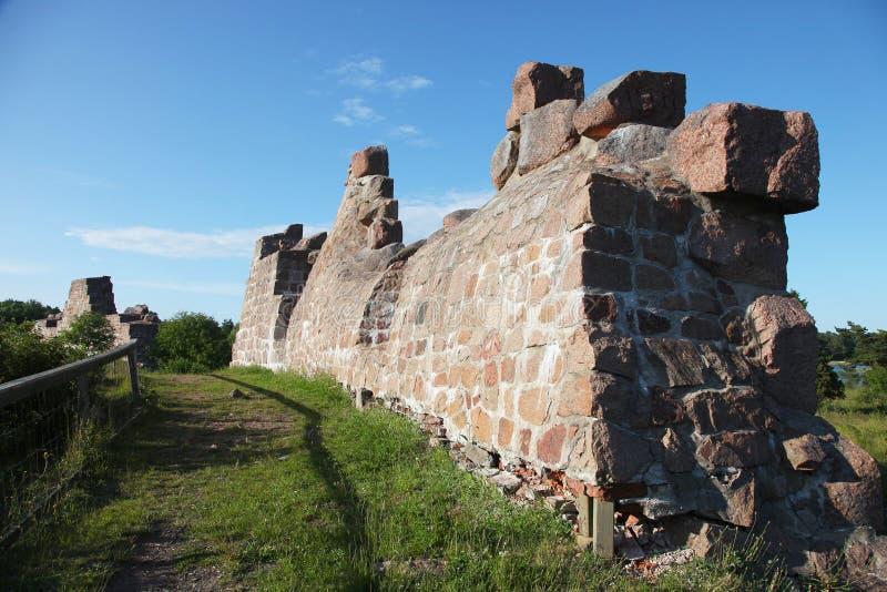 De Bomarsund-Vesting stock fotografie