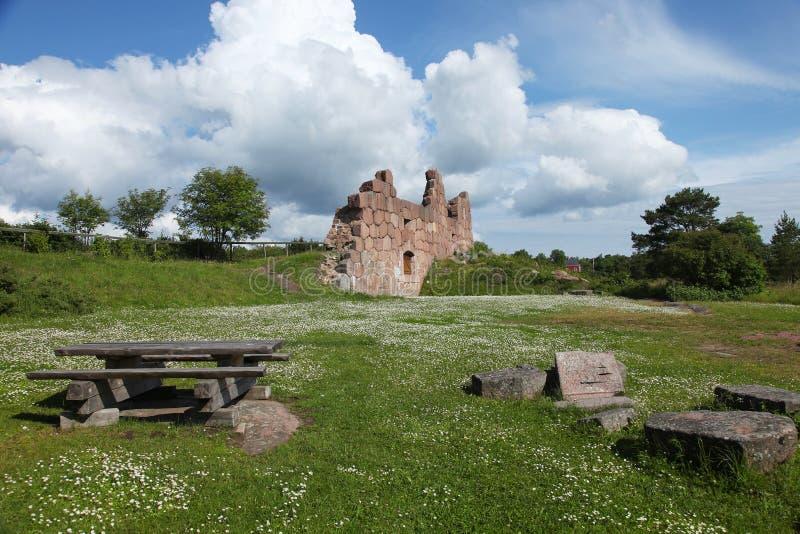De Bomarsund-Vesting royalty-vrije stock afbeeldingen