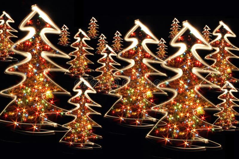 De bomen van Kerstmis royalty-vrije stock foto