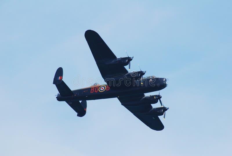 De bommenwerper van Avrolancaster royalty-vrije stock afbeeldingen