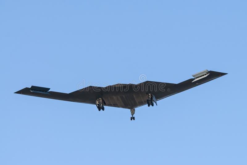 De Bommenwerper van de USAF B-2 royalty-vrije stock foto's