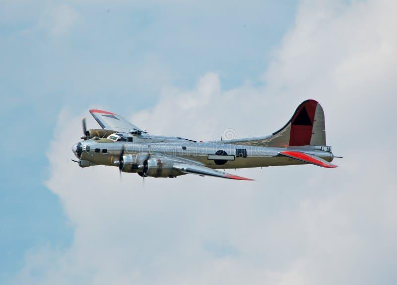 De bommenwerper van de Wereldoorlog II stock afbeeldingen