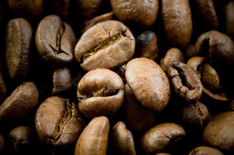 De bonentextuur van de koffie royalty-vrije stock afbeelding