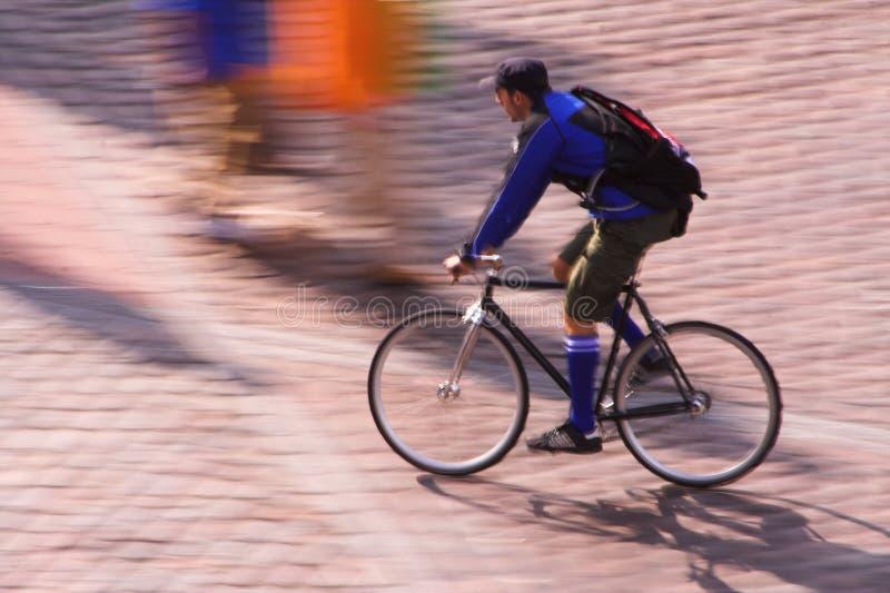 De boodschapper van de fiets