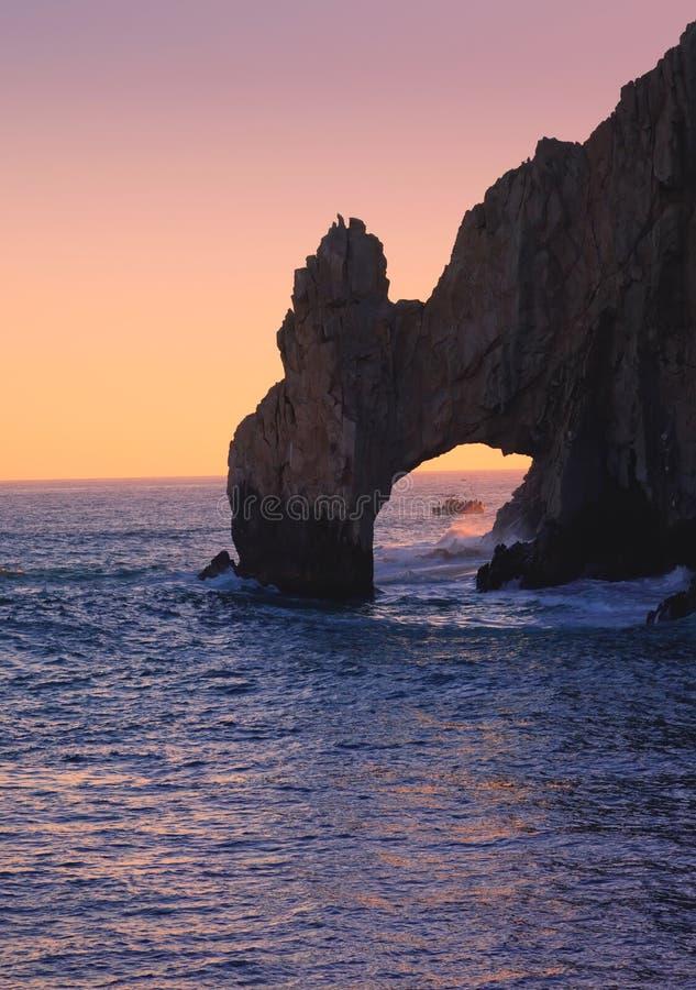 De boog in Cabo San Lucas, Mexico stock foto