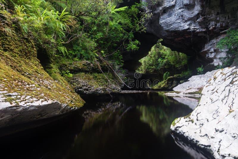 De Boog van de honingraatheuvel, Nieuw Zeeland royalty-vrije stock afbeelding