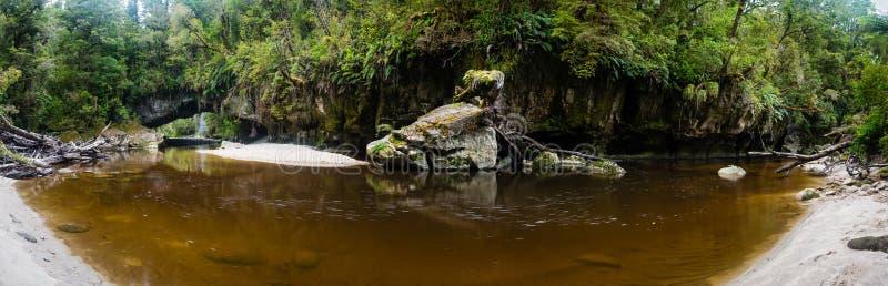 De Boog van de Moriapoort, Nieuw Zeeland royalty-vrije stock afbeeldingen