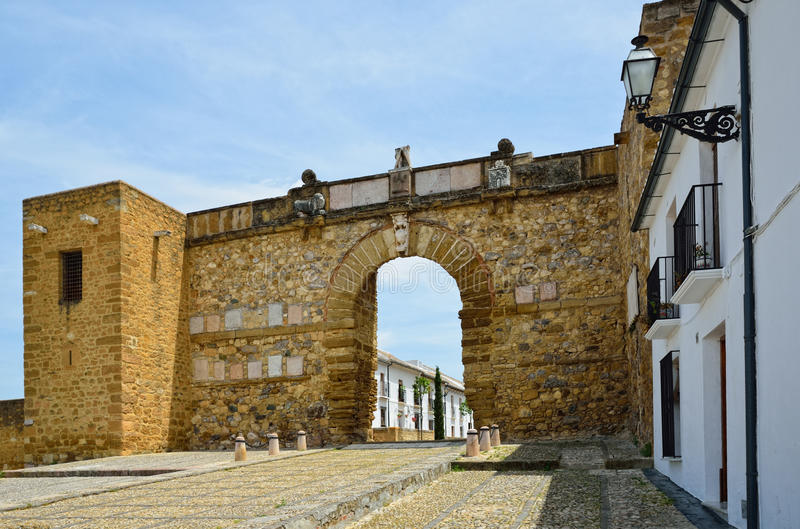 De boog van de reus in Antequera royalty-vrije stock foto