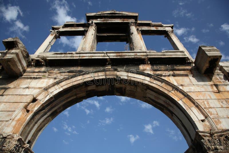 De Boog van Hadrian royalty-vrije stock fotografie
