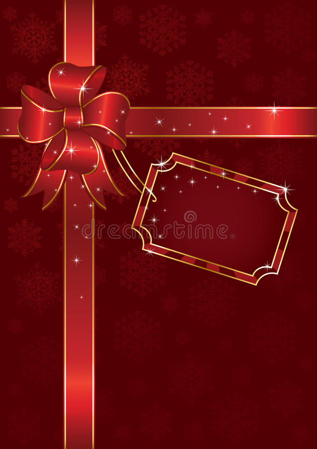 De boog van Kerstmis vector illustratie