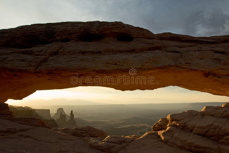 De Boog van Mesa stock afbeeldingen