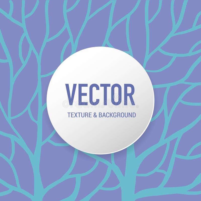 De boom patroon van de achtergrondtextuurwortel voor drukkunstwerk stock illustratie