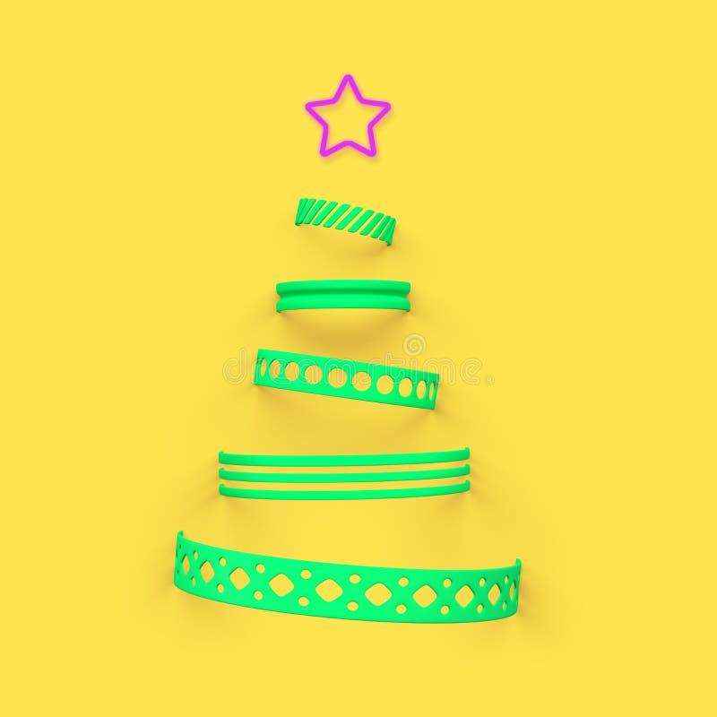 De boom van Christmass vector illustratie