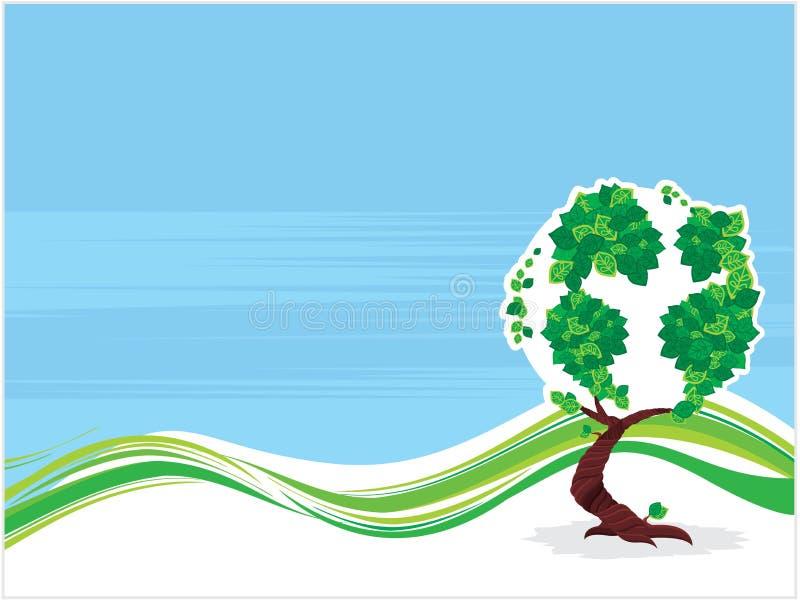 De boom van de aarde vector illustratie