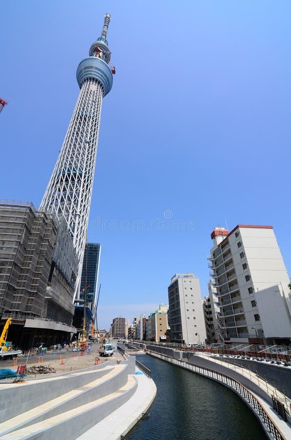 De Boom van de Hemel van Tokyo royalty-vrije stock afbeelding