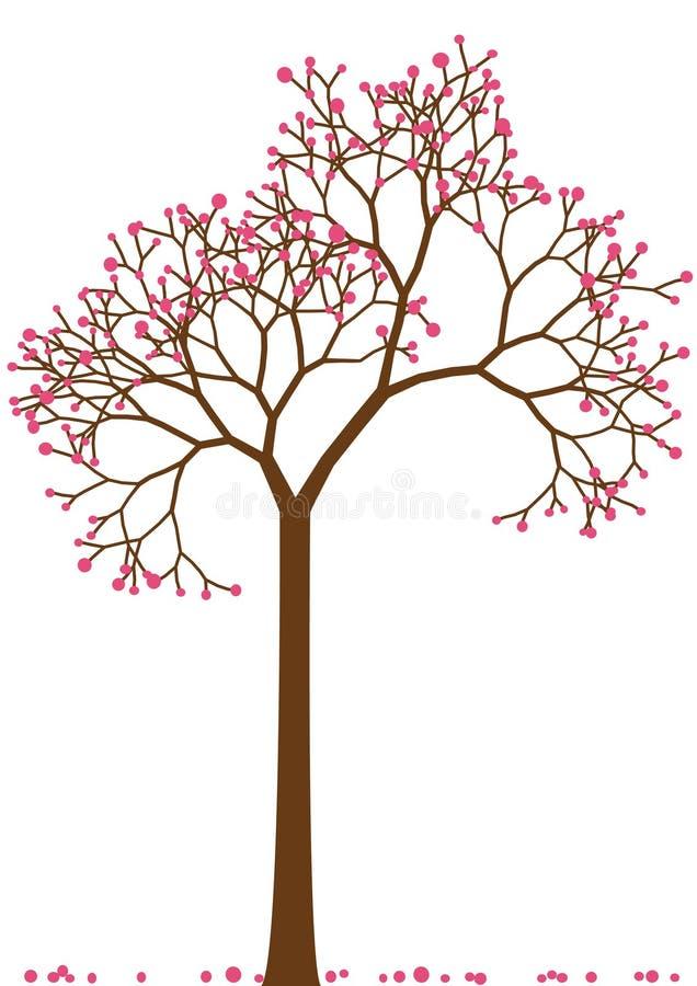 De boom van de kers,