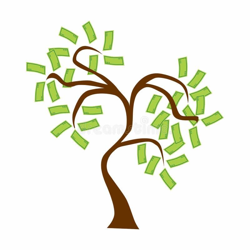 De boom van het geld -   royalty-vrije illustratie