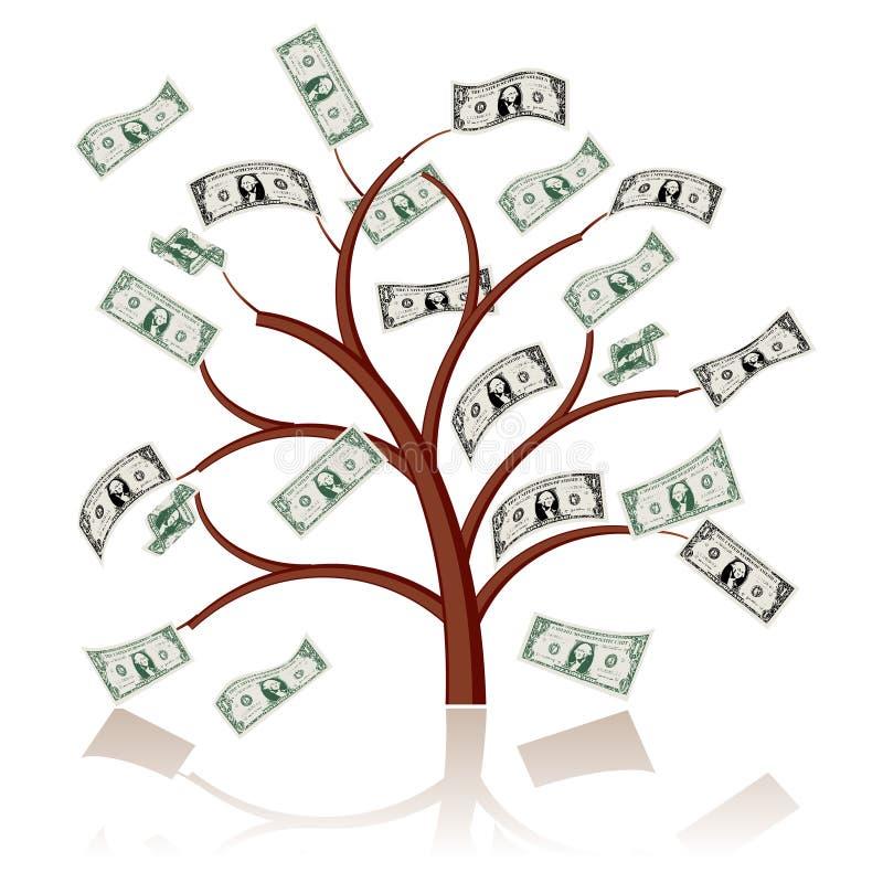 De boom van het geld vector illustratie