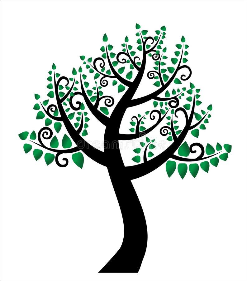 De boom van het leven, stamboom royalty-vrije illustratie