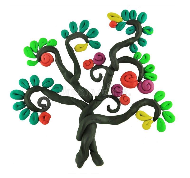 De boom van het mirakel vector illustratie