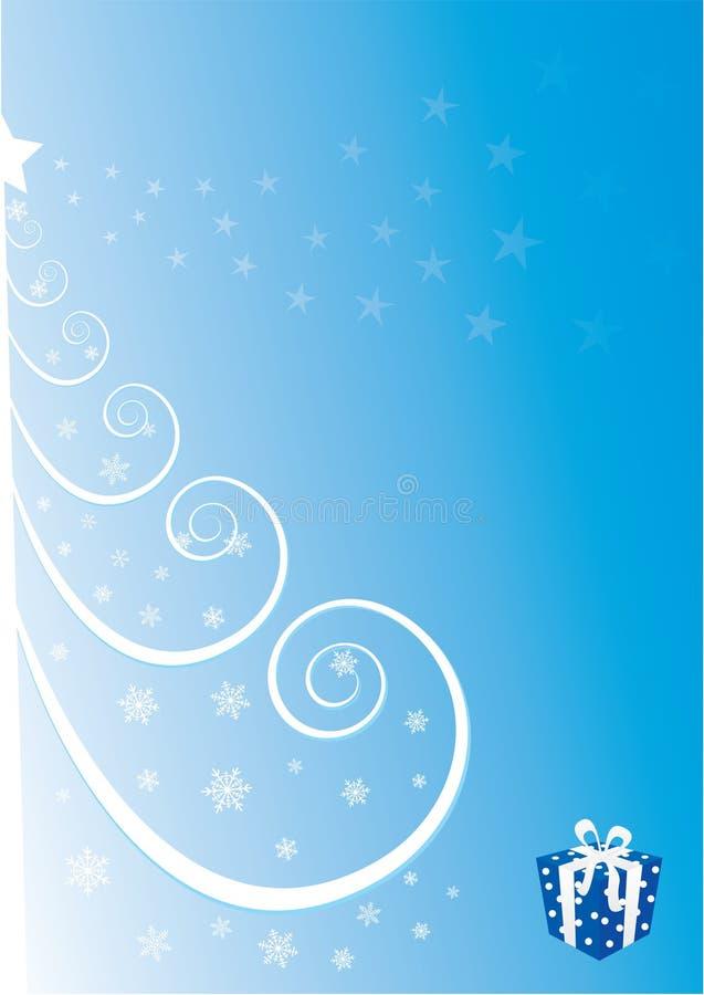 De boom van Kerstmis vector illustratie