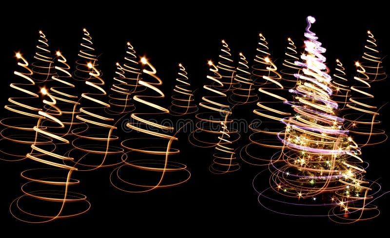 De boom van Kerstmis stock afbeelding