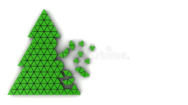 De boom van Kerstmis stock illustratie